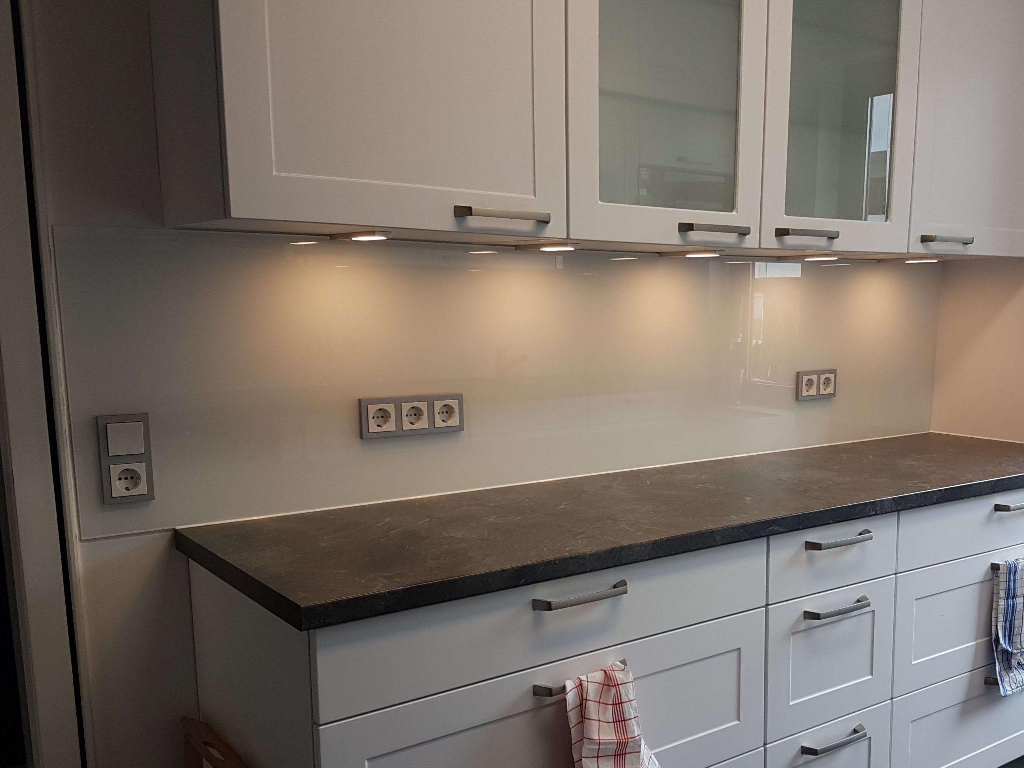Küchenrückwand kleine Seite